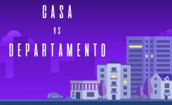 ¿Es mejor comprar una casa o un departamento?