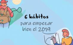 6 hábitos para empezar bien el año